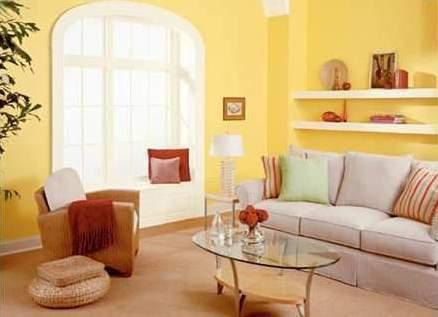 Los colores y el feng shui amarillo decoradoras decocasa for Colores para un living comedor segun el feng shui