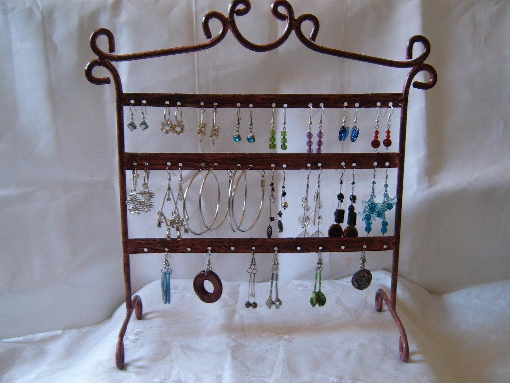 Dormitorios accesorios lindos para guardar cosas - Percheros para collares ...