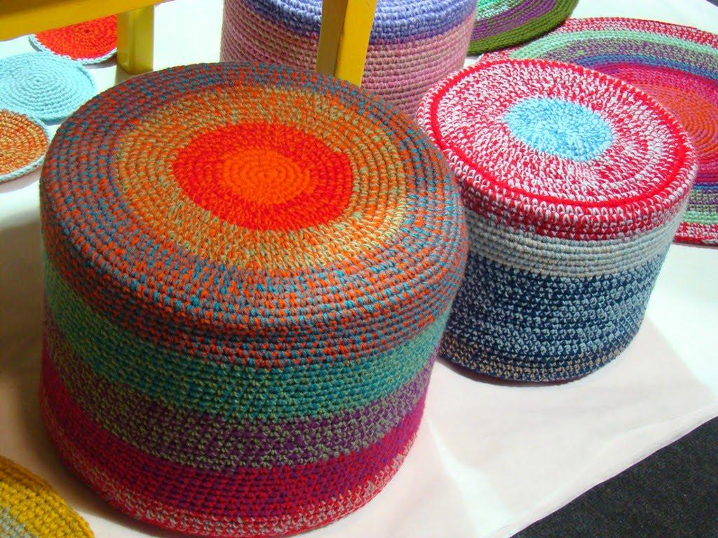 Crochet Para Vestir Tu Casa Decoradoras Decocasa -> Tapetes Para Sala Tejidos A Crochet