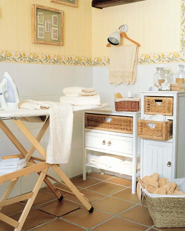 Lavaderos con aire rom ntico decoraci n de interiores y - Muebles para lavaderos ...