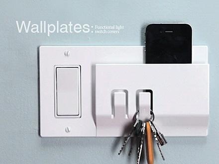 Prototipo llaves de luz con percherito decoradoras decocasa - Llaves de luz rusticas ...