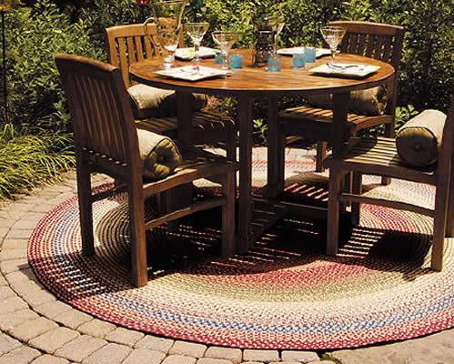 Alfombras para patios materiales de construcci n para la - Alfombras para exterior ...