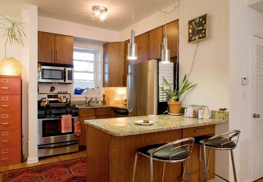 Galer a cocinas chicas decoradoras decocasa for Cocinas chicas