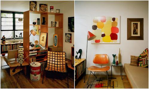 Ideas para crear un departamento retro decoradoras decocasa for Decoracion departamentos pequenos vintage