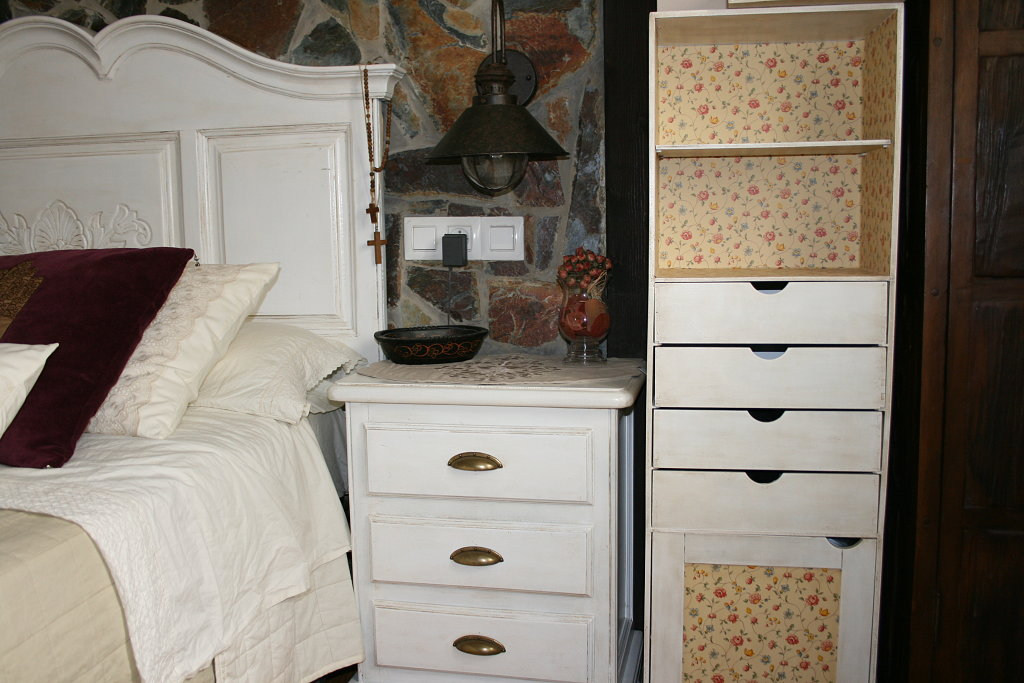 unificar estilos muebles pintados de blanco – Decoradoras Decocasa