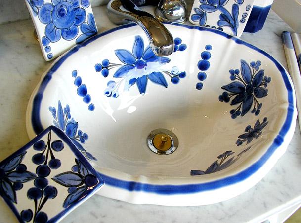 Bachas Para Baño Pintadas:Decoracion – Decoradoras Decocasa » bachas artesanales