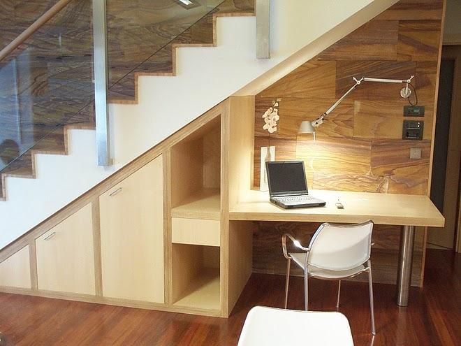 Espacio bajo escaleras ideas para aprovecharlos mejor for Espacio escalera