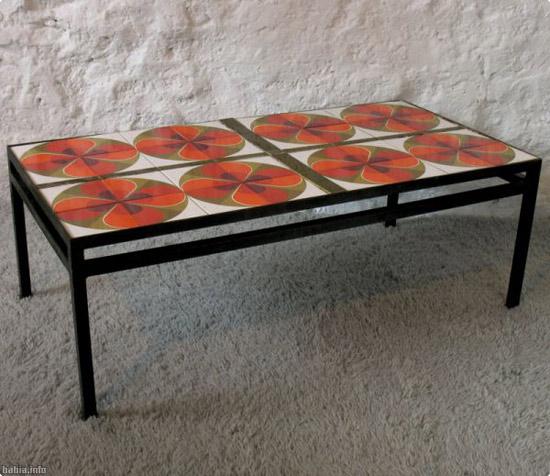 mesas con azulejos cer micos un toque distinto