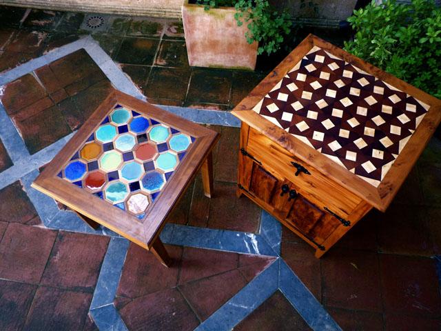 Mesas con azulejos cer micos un toque distinto - Mesas de azulejos ...