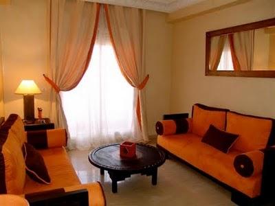 Colores pasa naranja decoradoras decocasa for Paredes naranja y beige