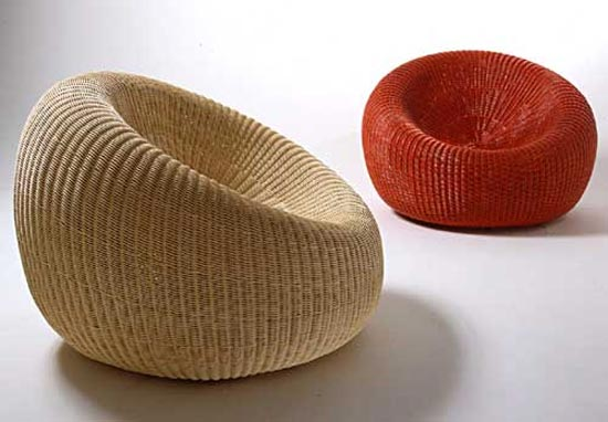 Sillones de mimbre y rattan adorable simpleza - Muebles de bambu y mimbre ...