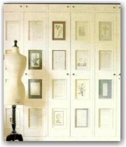 Puertas de armarios con mucha personalidad decoradoras - Decorar puertas de armario ...