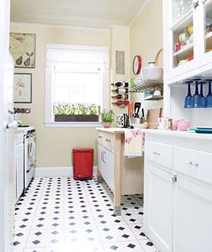Cocinas poco espacio y mucho estilo decoradoras decocasa for Muebles cantero