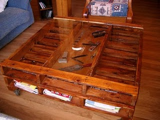 Ideas muebles con palets reciclados decoradoras decocasa for Muebles hechos de palets reciclados