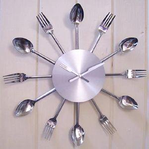 Relojes hora de la cocina decoradoras decocasa - Relojes para cocinas modernas ...