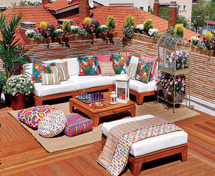 Terrazas para vivir decoradoras decocasa for Idea deco terraza de madera