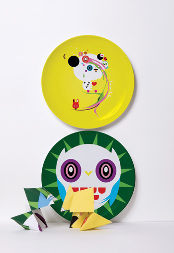 Paredes decoradas con platos decoradoras decocasa - Platos decorativos modernos ...