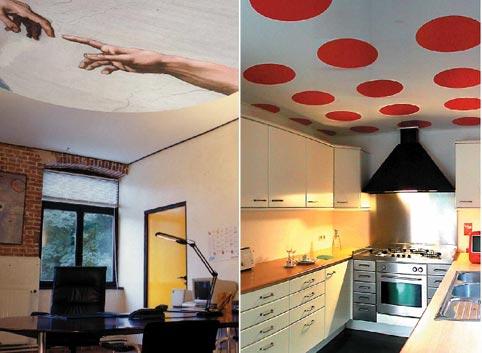 Adornos para techos imagui for Decoracion draibol techos