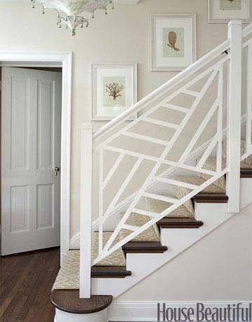 Una escalera, dos estilos – Decoradoras Decocasa