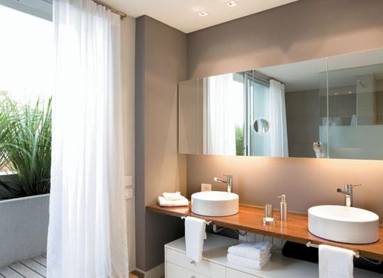 Ba os para dos decoradoras decocasa for Disenos de espejos para habitacion