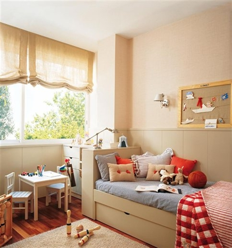 Dormitorios Ni Ef Bf Bdos Decorados En Rojo