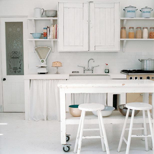 aires vintage en cocinas blancas decoradoras decocasa