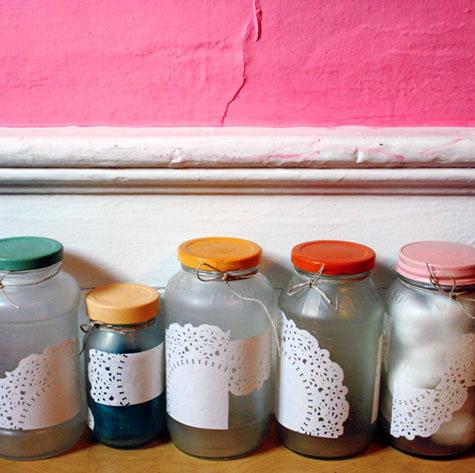 Como reciclar frascos de mermelada