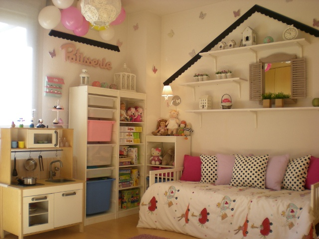 Un dormitorio de ni a de ensue o decoradoras decocasa - Dormitorio de ensueno ...