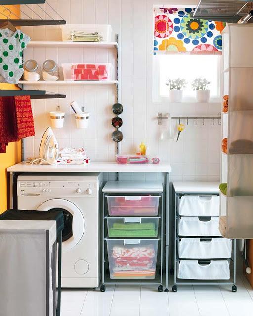 Ideas para el lavadero decoradoras decocasa for Lavaderos modernos para ropa