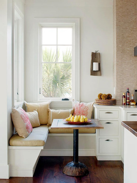 Cocina bancos en el office decoradoras decocasa - Bancos para cocina modernos ...