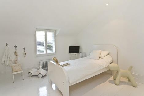Dormitorios infantiles en blanco decoradoras decocasa - Dormitorio infantil blanco ...