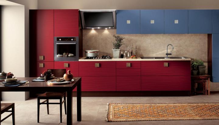 Contraste de color en cocinas modernas decoradoras decocasa for Alacenas de cocina modernas
