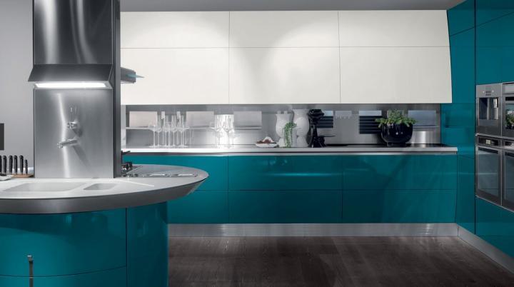 Contraste de color en cocinas modernas u2013 Decoradoras Decocasa