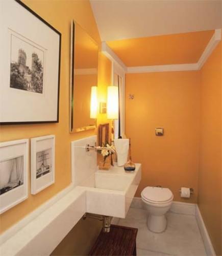 foto-baño-naranja